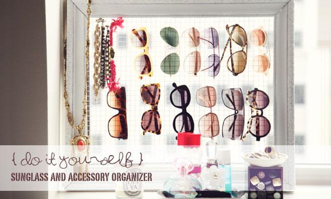 Como Organizar Óculos