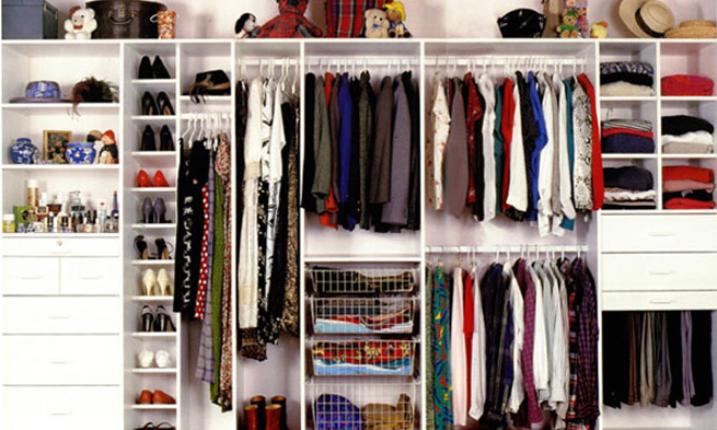 Como organizar o armário