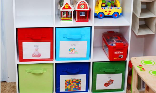 Ideias para Guardar os Brinquedos
